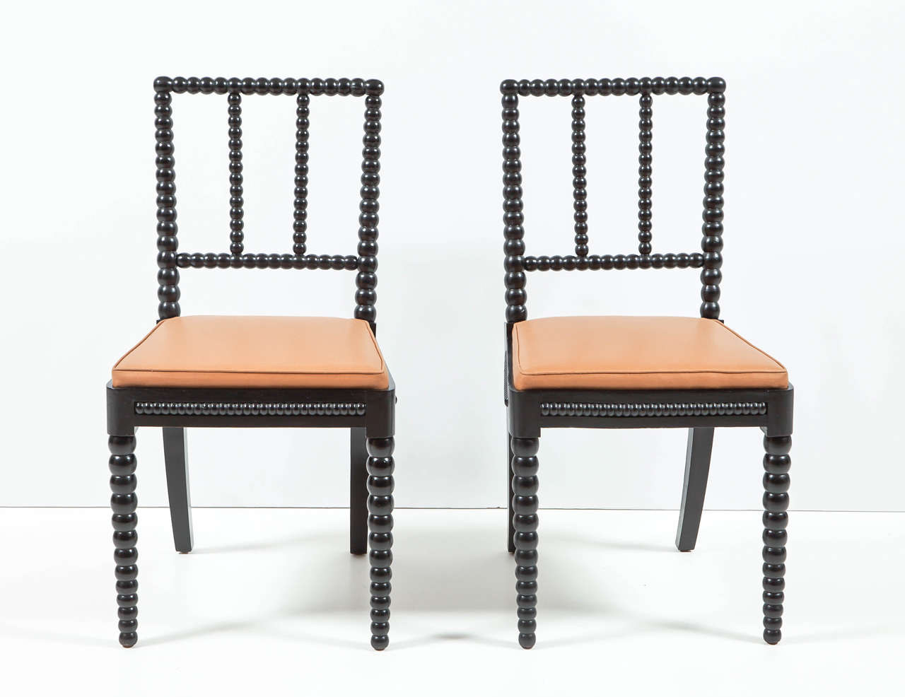 Set of Eight Danish Spool Chairs at 1stdibs