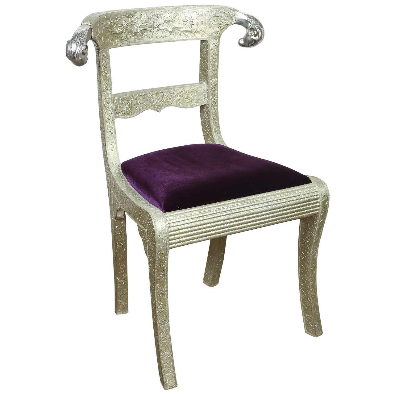 Anglo raj wedding side chair for sale at 1stdibs for Side chairs for sale