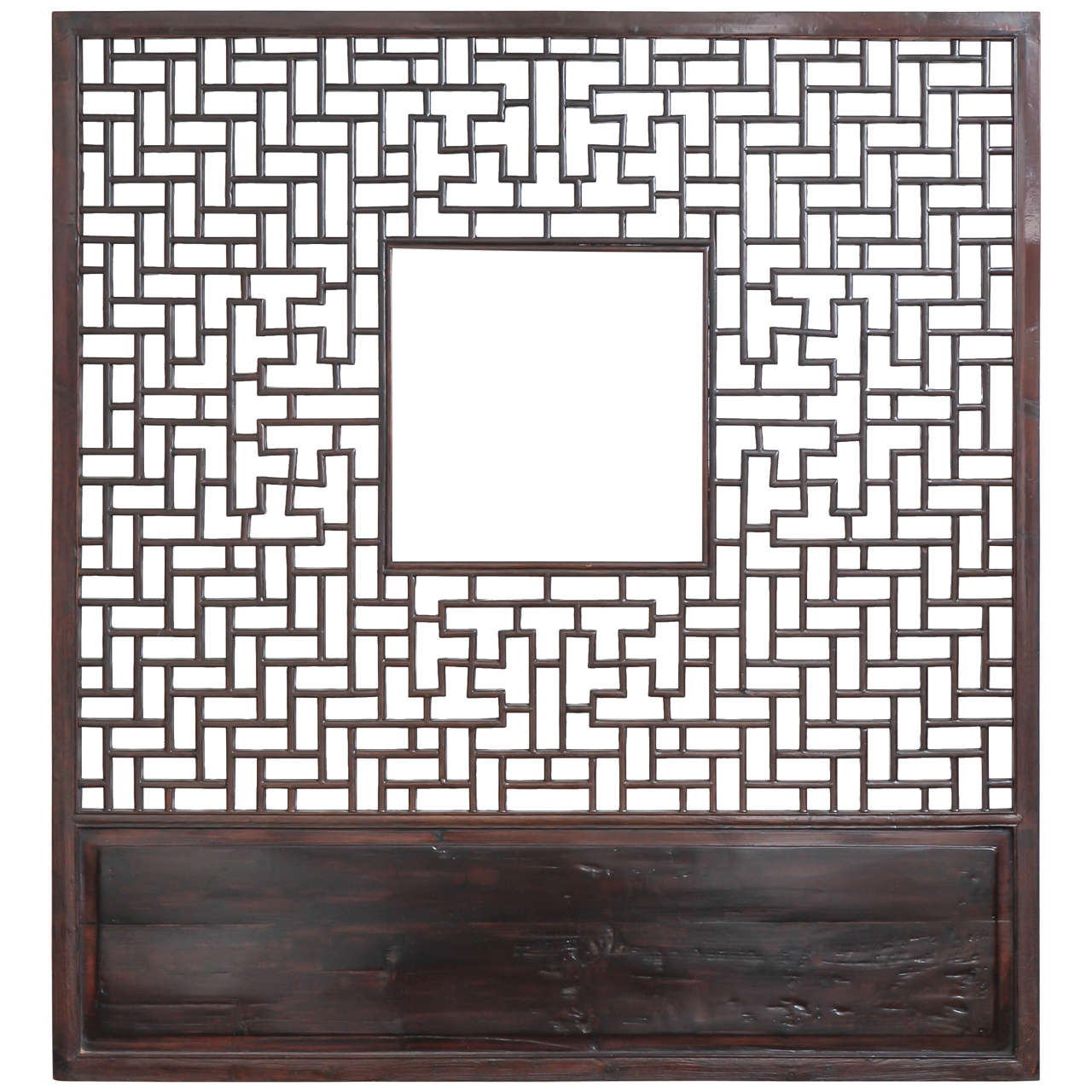 Lattice screen panel from china late 19th century at 1stdibs for Lattice screen