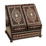 Ivory Rosewood Traveling Chest