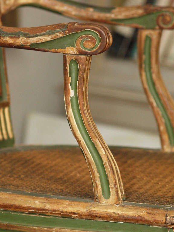 Two Louis XVI Style Side Chairs 6