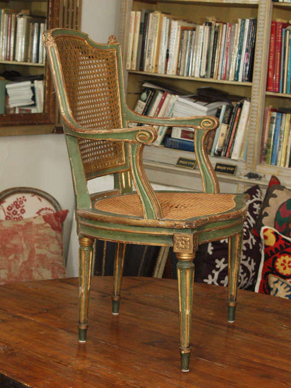Two Louis XVI Style Side Chairs 10