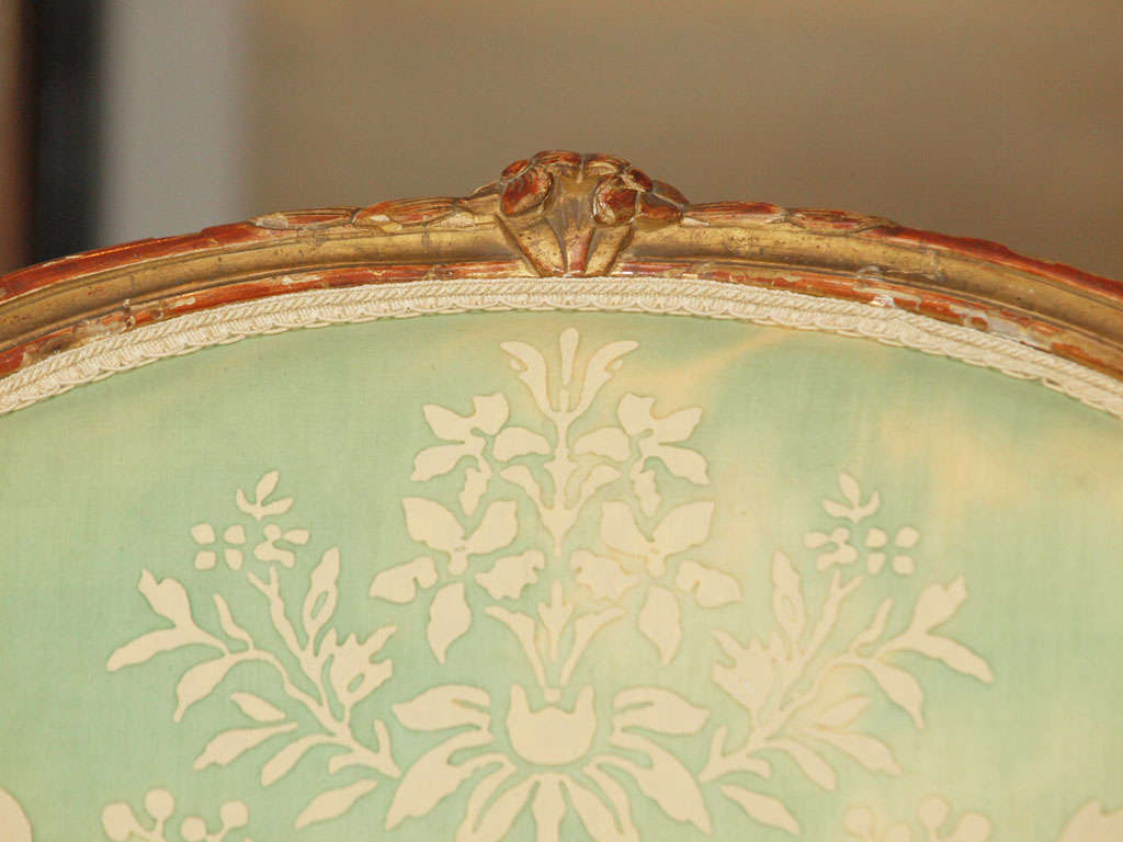 18th Century and Earlier Louis XV Fauteuil For Sale