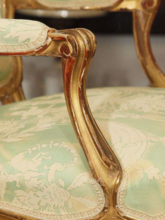 Louis XV Fauteuil For Sale 1
