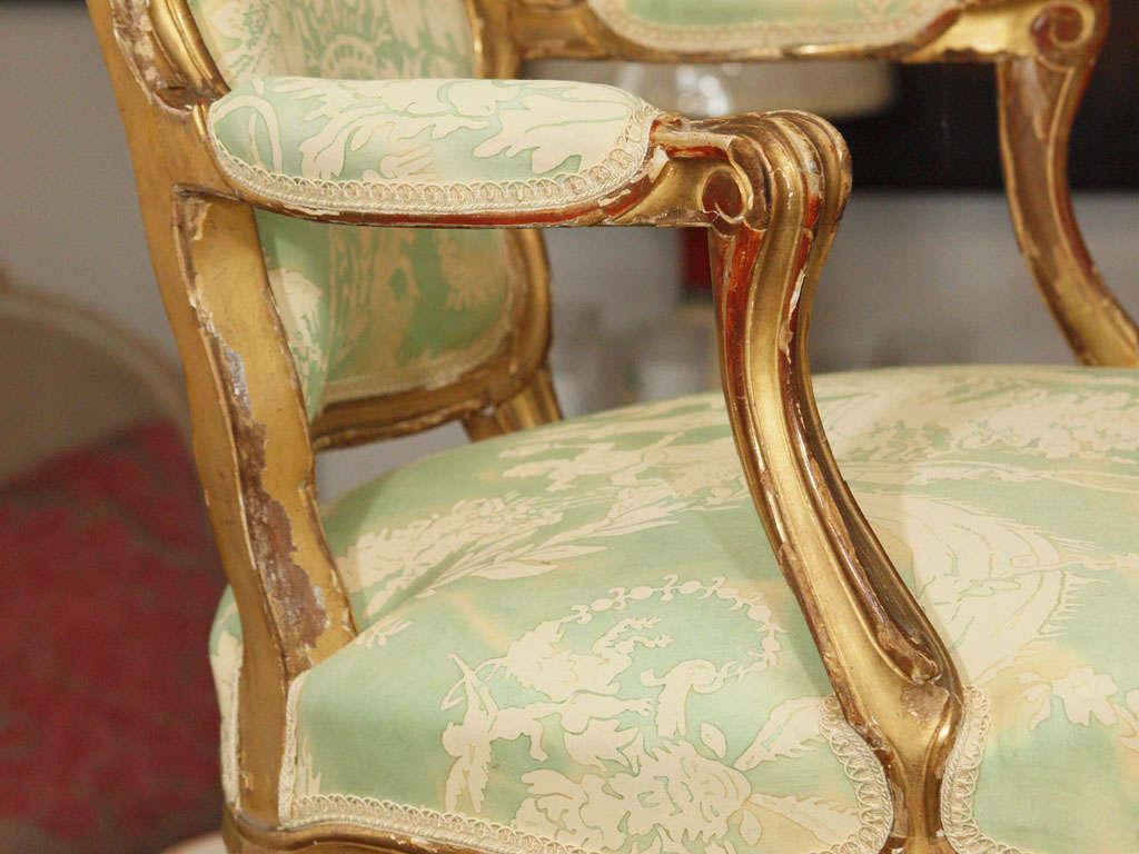 Louis XV Fauteuil For Sale 3