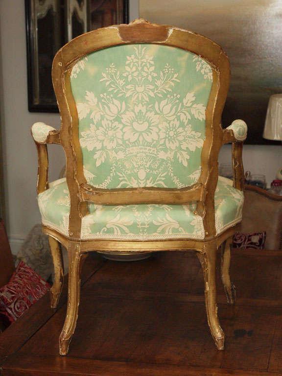 Louis XV Fauteuil For Sale 5