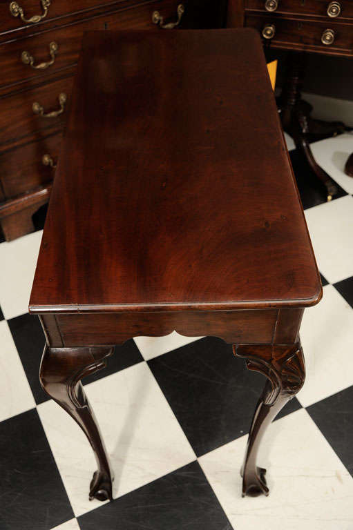 Mahogany Side Table 9