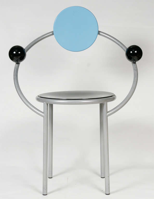 """A """"First""""  Memphis Chair designed by Michele De Lucchi 2"""