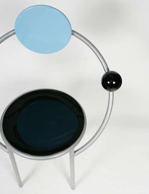 """A """"First""""  Memphis Chair designed by Michele De Lucchi 6"""