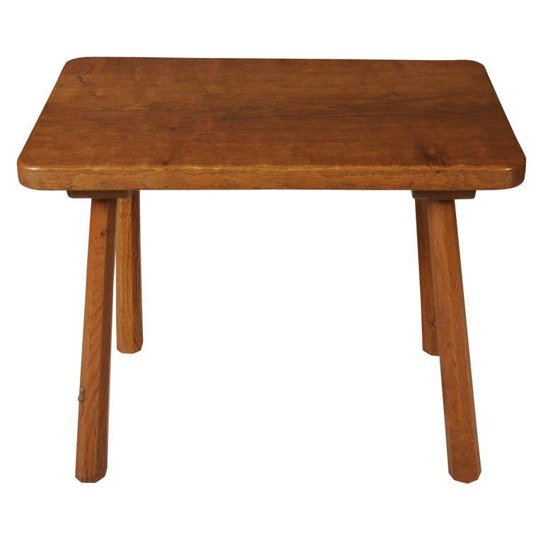"Robert ""Mouseman"" Thompson small size Oak pub table"