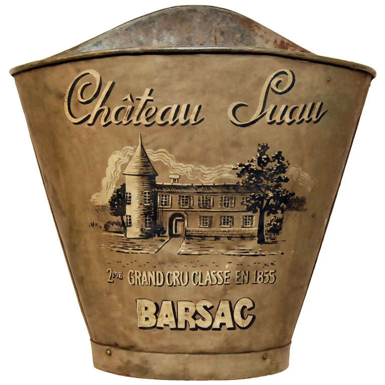 chateau suau hotte from barsac region at 1stdibs. Black Bedroom Furniture Sets. Home Design Ideas