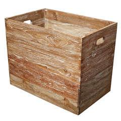 Teak Wood Container