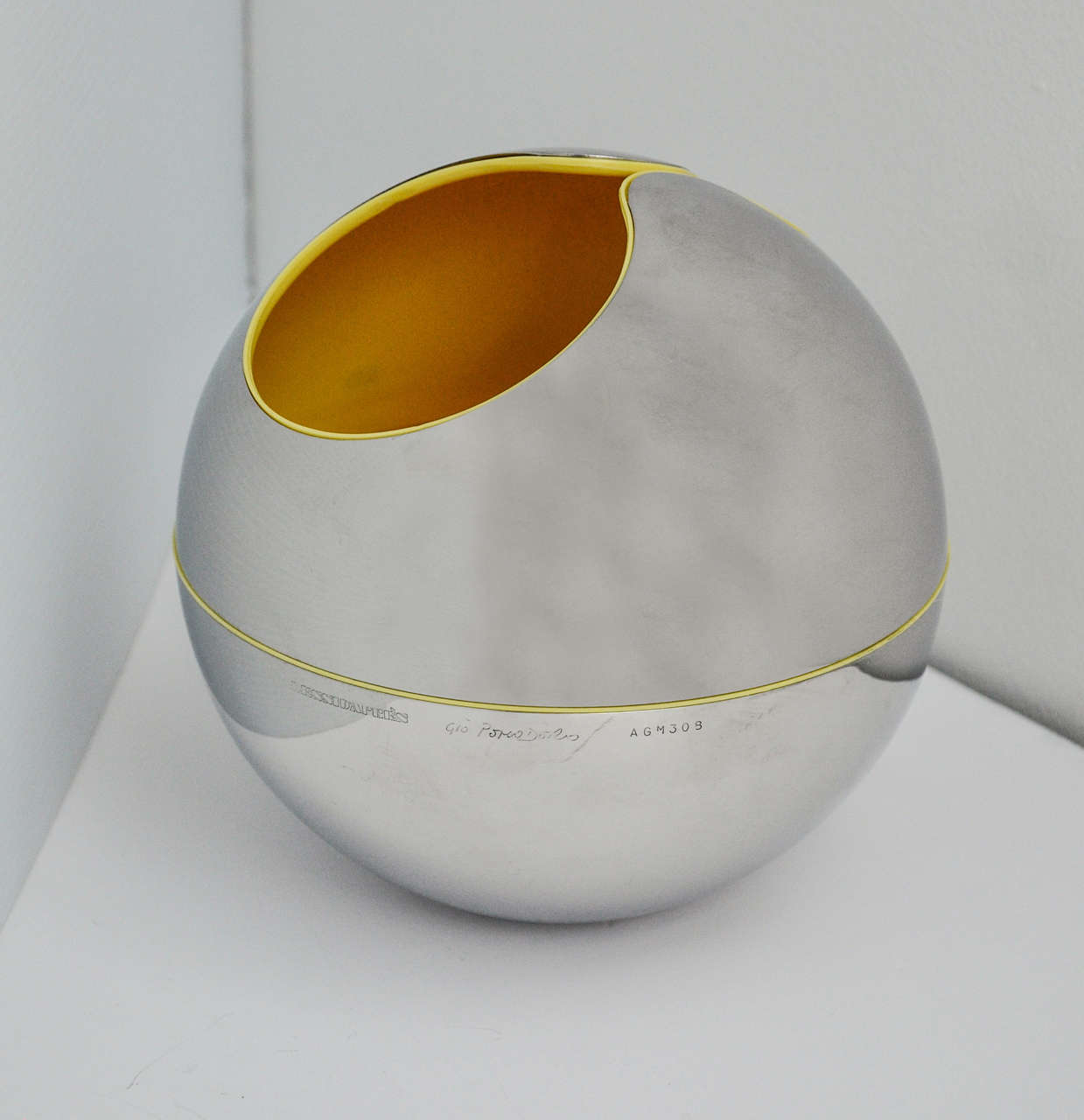 Italian Gio Pomodoro Sphere or Holder for Alessi d'Apres, 1972 For Sale