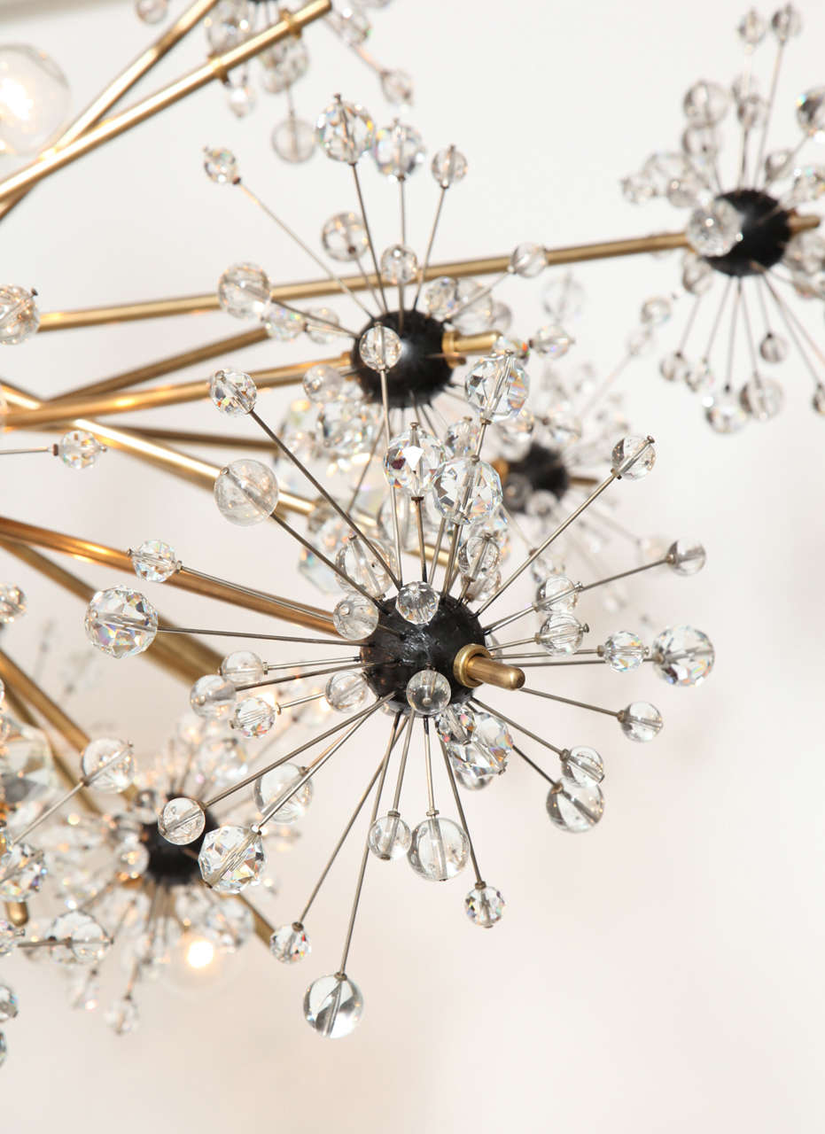 16 light Lobmeyr Metropolitan chandelier 3