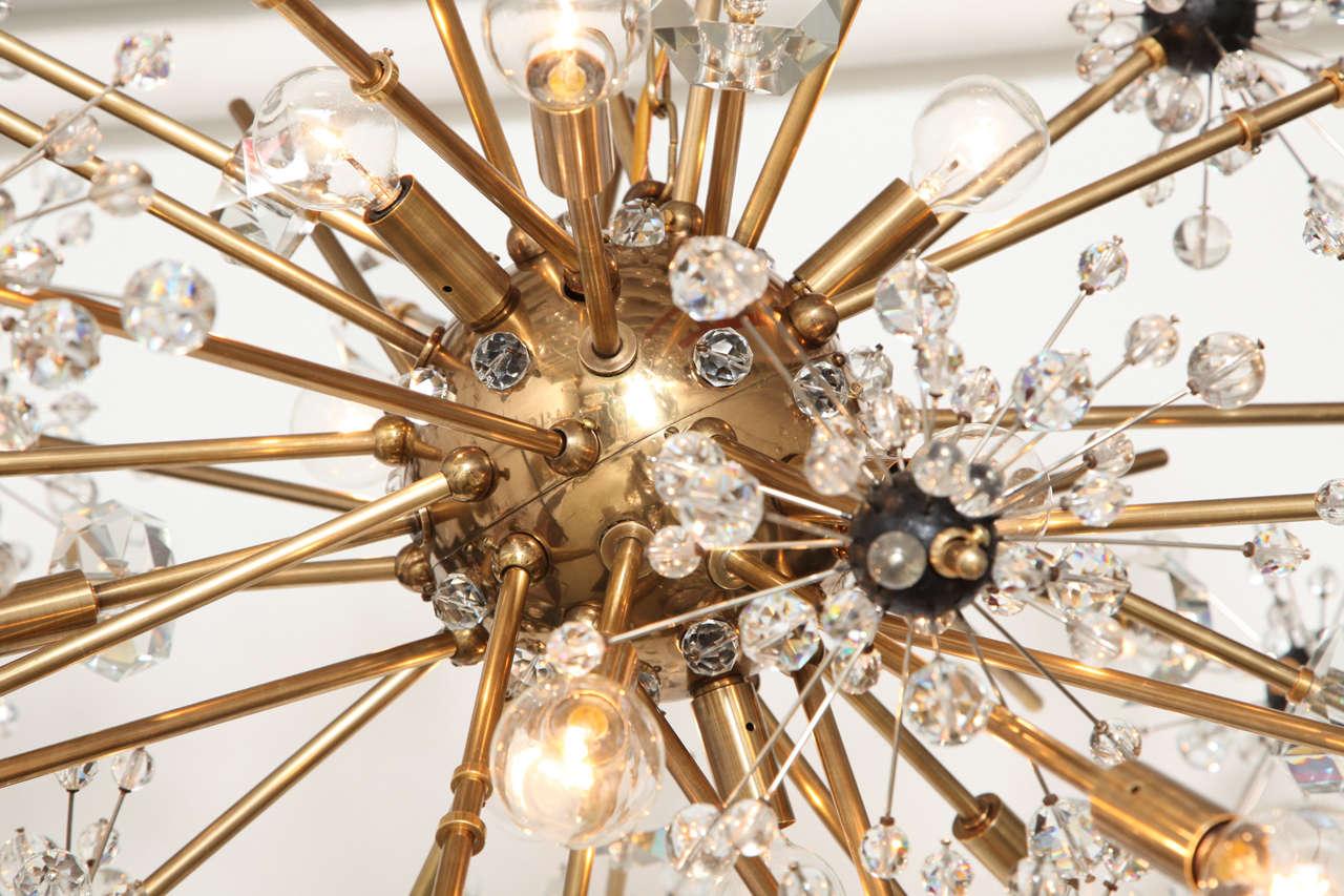 16 light Lobmeyr Metropolitan chandelier 4
