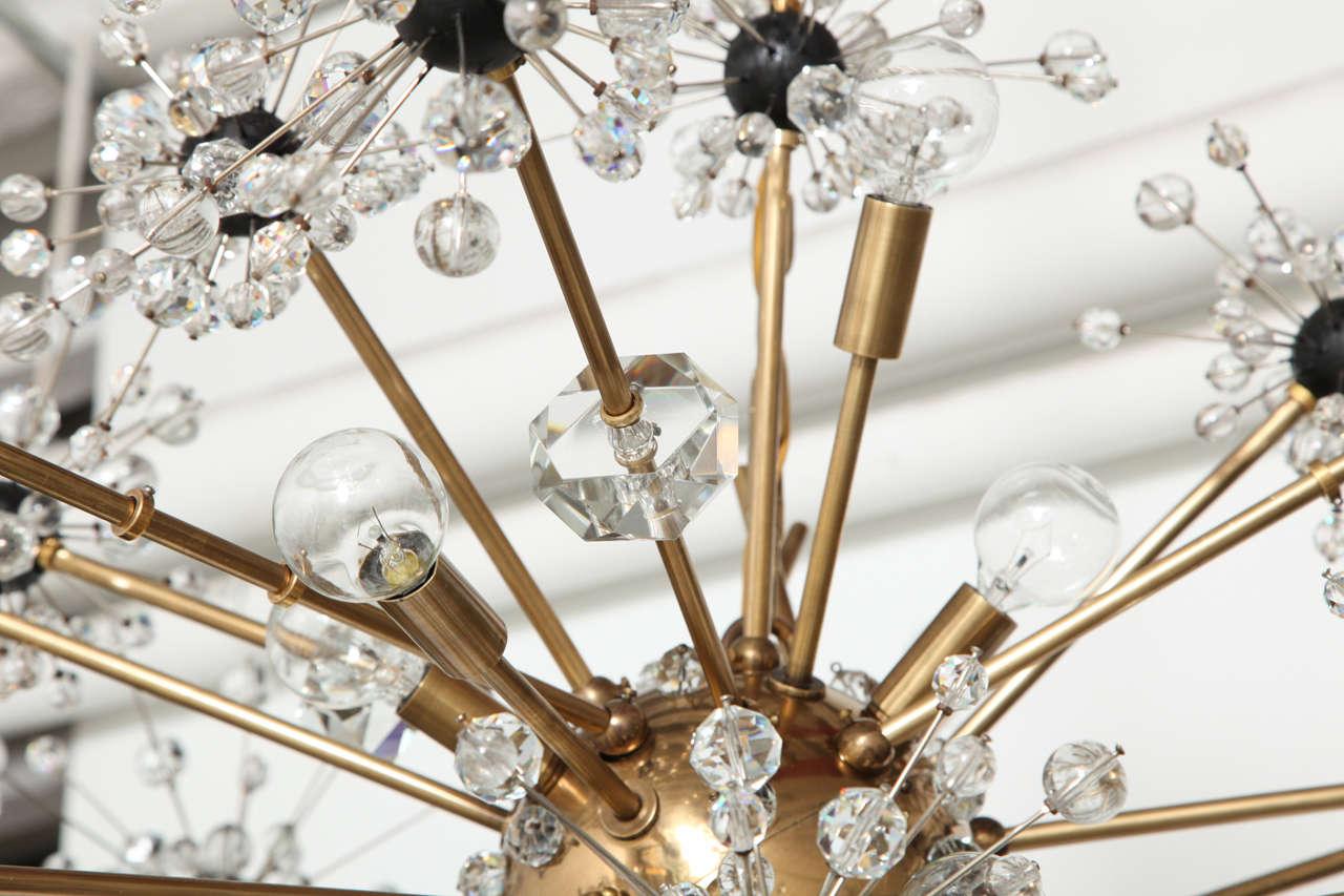 16 light Lobmeyr Metropolitan chandelier 7