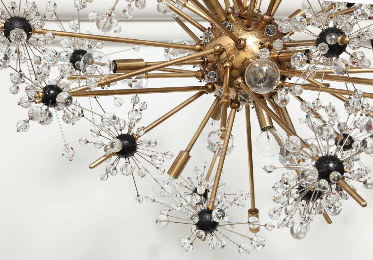 16 light Lobmeyr Metropolitan chandelier 8