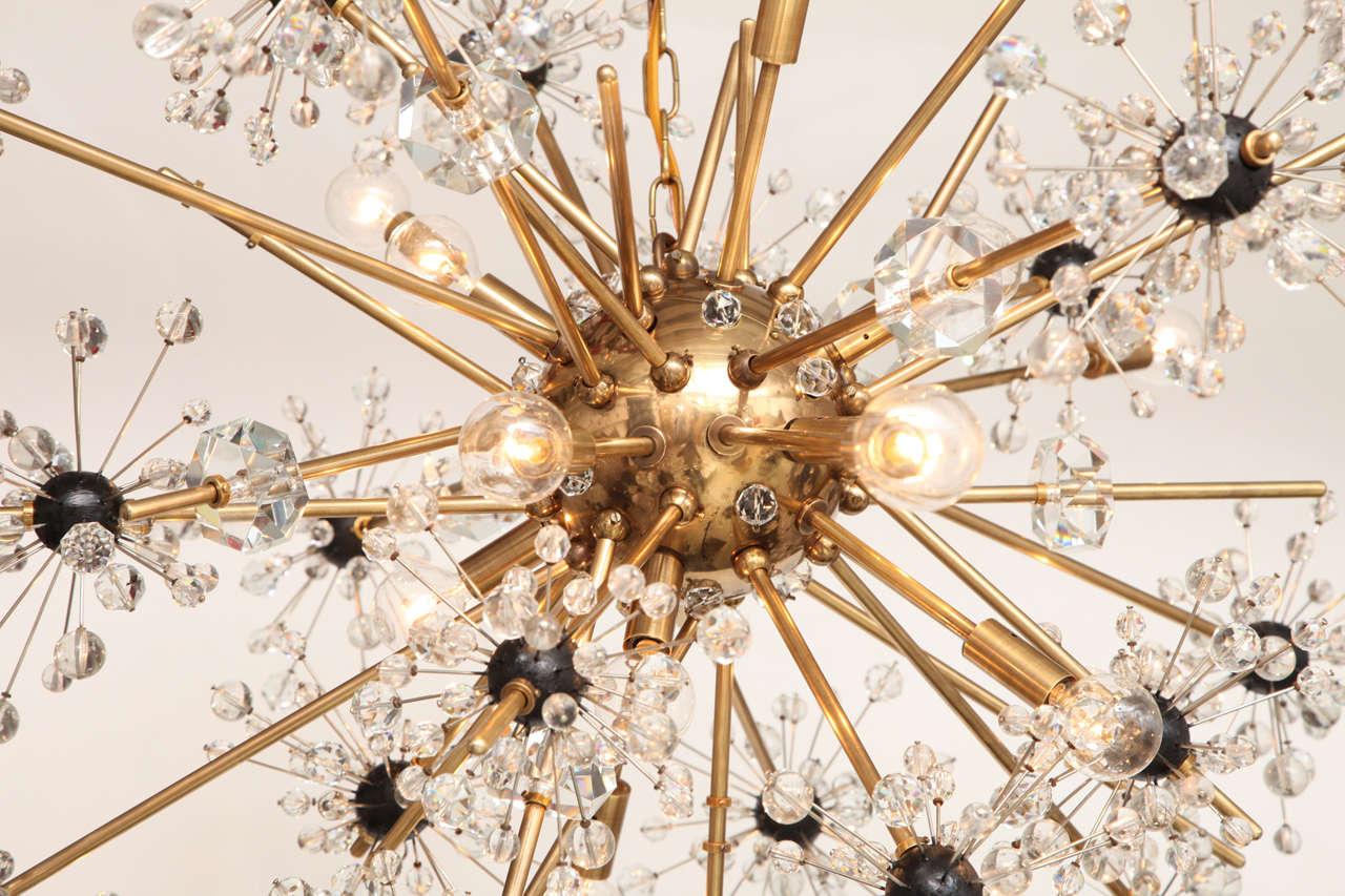 16 light Lobmeyr Metropolitan chandelier 9