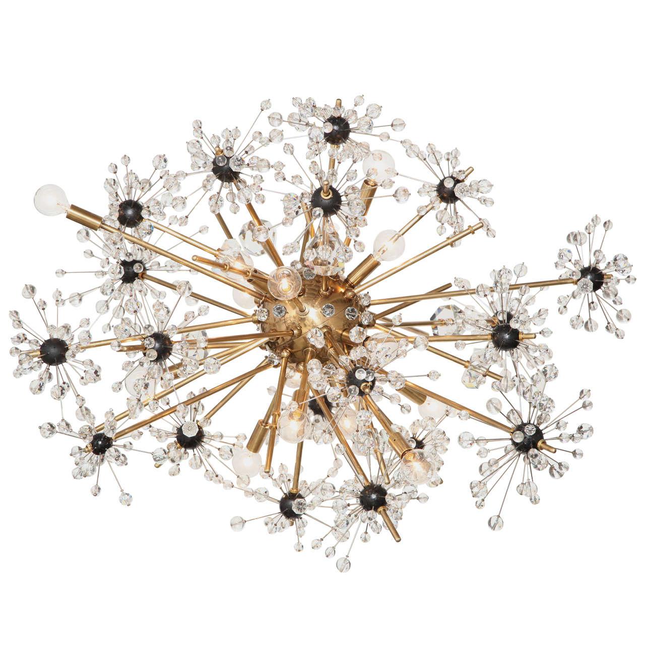 16 light lobmeyr metropolitan chandelier at 1stdibs arubaitofo Gallery