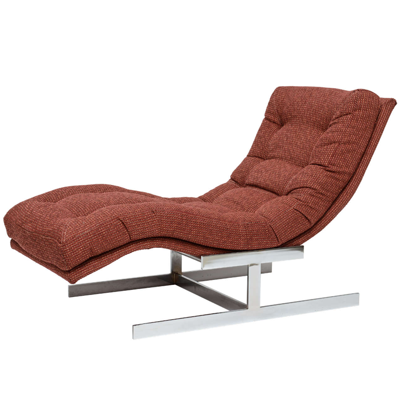Milo baughman chaise longue at 1stdibs for Chaise longue furniture
