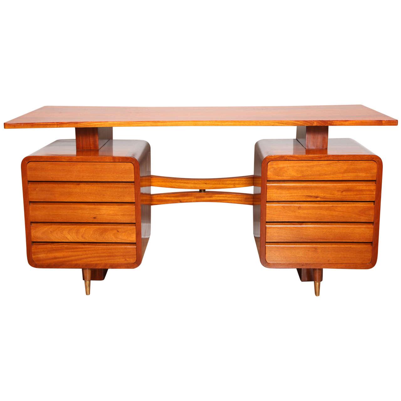 Mid Century Modern Desk: Extraordinary Mid-Century Modern Desk At 1stdibs
