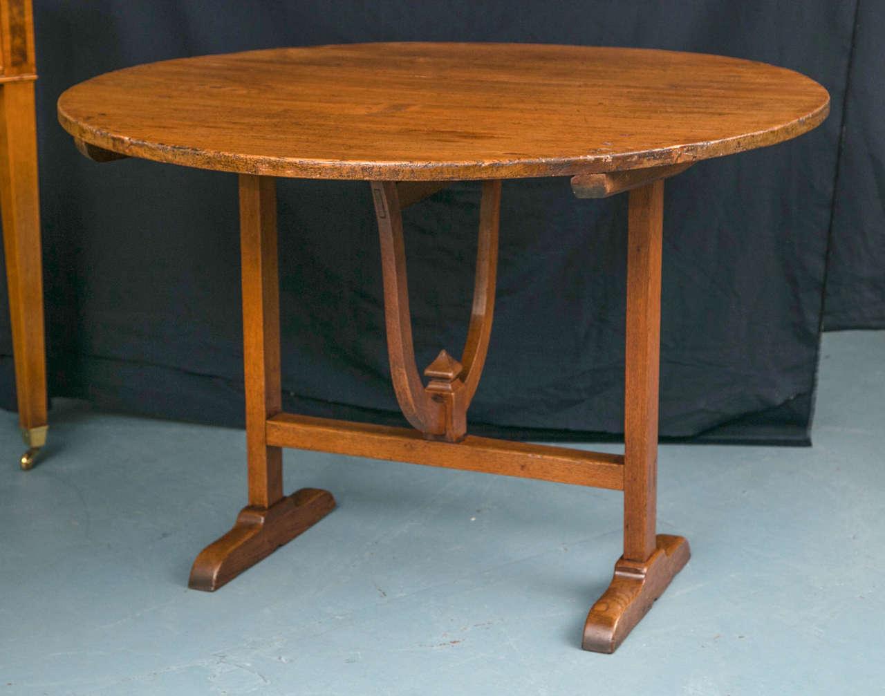 poplar vendange table for sale at 1stdibs