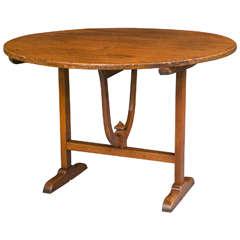 Poplar Vendange Table