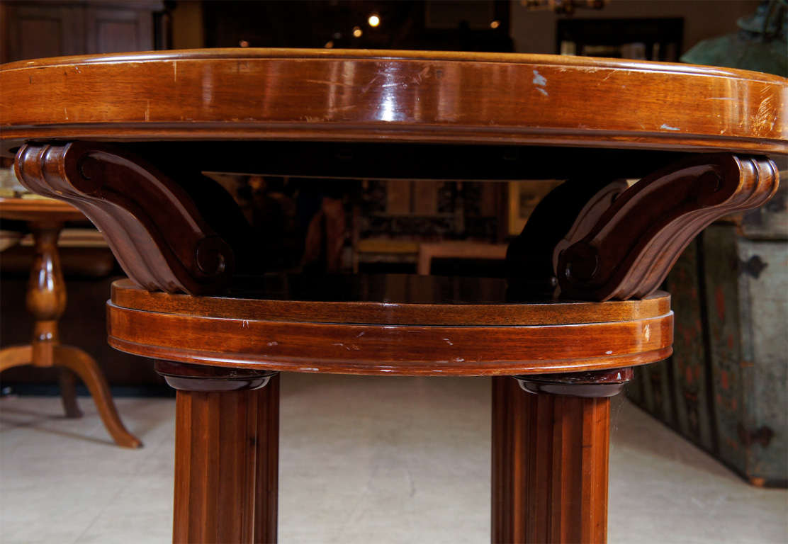 Danish Mahogany Center Table For Sale