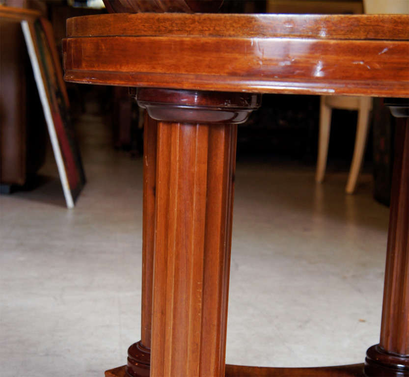 Mahogany Center Table For Sale 2