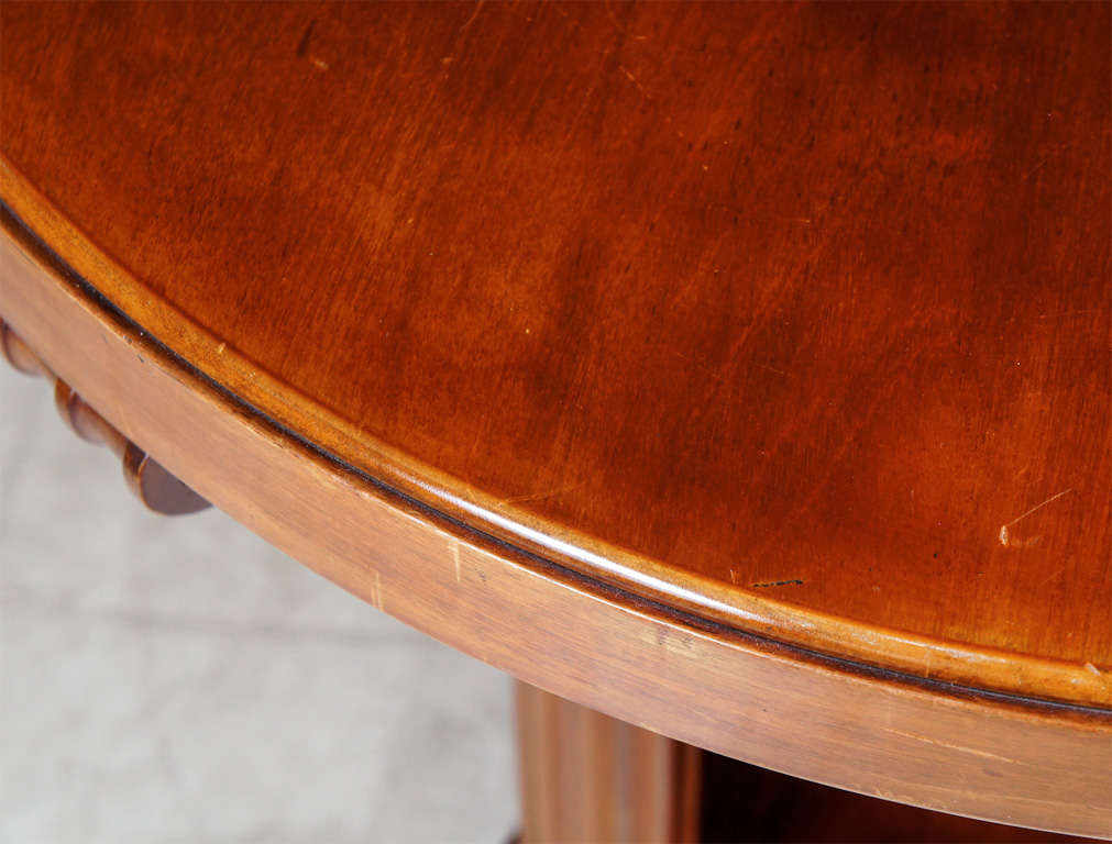 Mahogany Center Table For Sale 4
