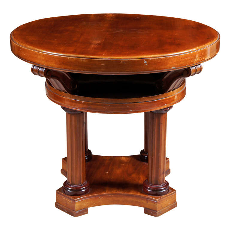 Mahogany Center Table For Sale