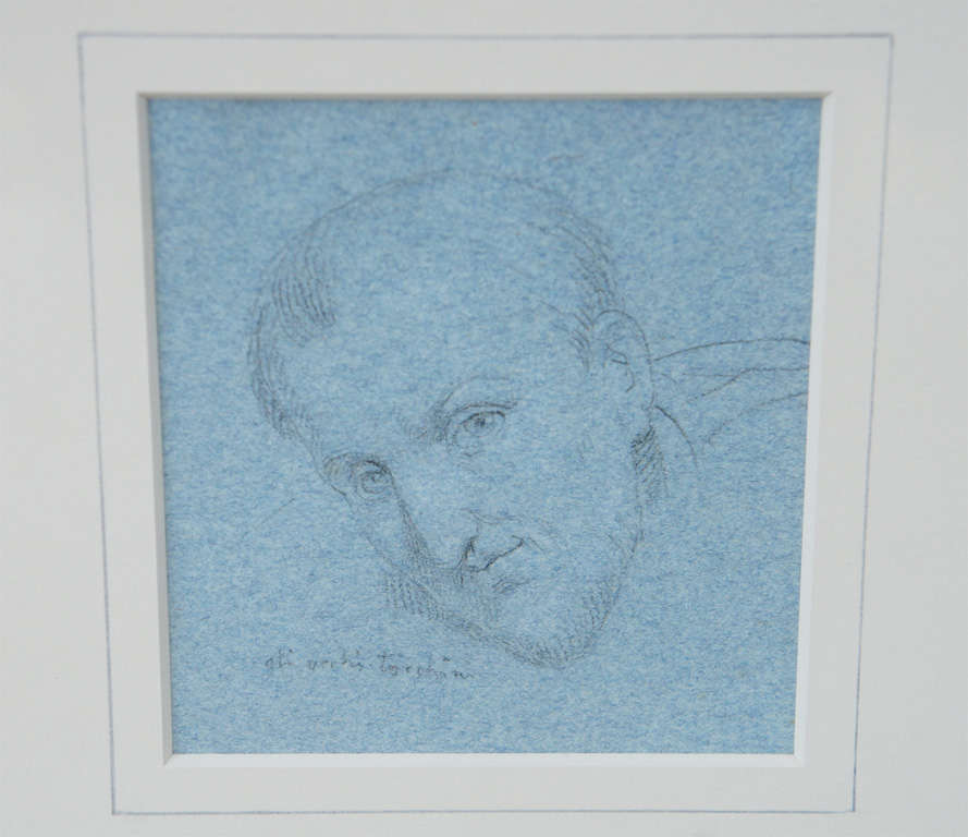Set of Four Napoleonic Period Drawings In Good Condition For Sale In Hudson, NY