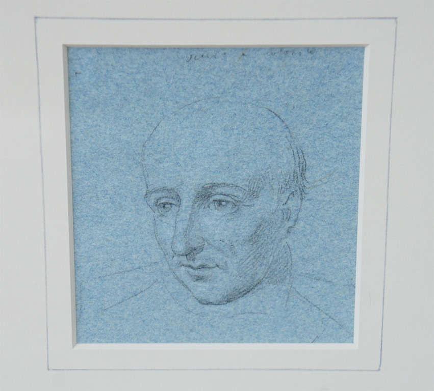 Paper Set of Four Napoleonic Period Drawings For Sale