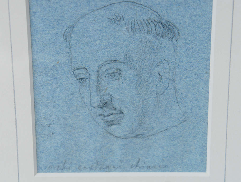 Set of Four Napoleonic Period Drawings For Sale 2
