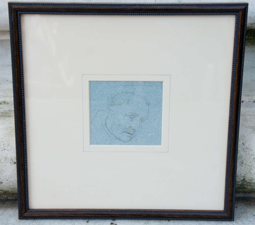 Set of Four Napoleonic Period Drawings For Sale 3