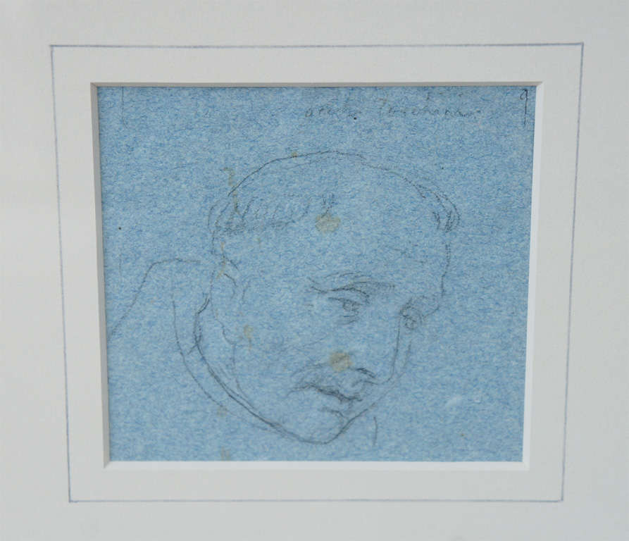 Set of Four Napoleonic Period Drawings For Sale 4