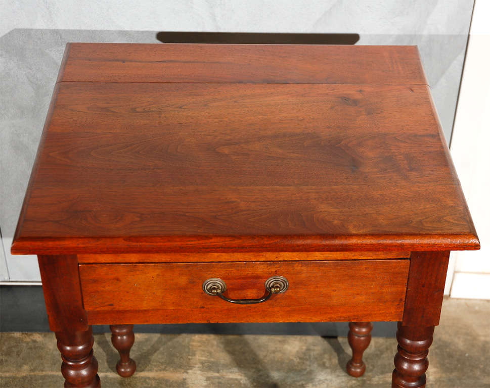 Antique One Drawer On Turned Legs For Sale At 1stdibs