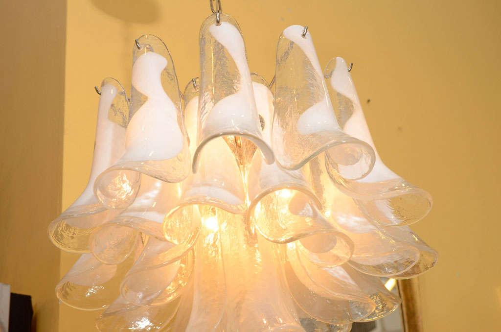 Lovely Barovier And Toso Chandelier At 1stdibs