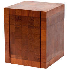 1960s Teak Humidor by Dunhill