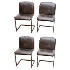 Modernist Steel Chairs