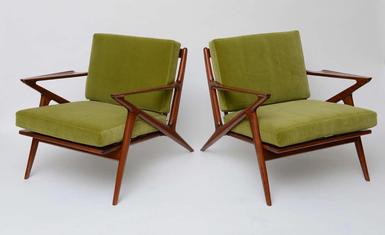 Iconic poul jensen z lounge single chair for selig at 1stdibs - Poul jensen z chair ...