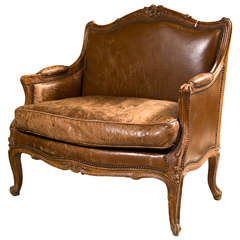 French Provincial Style Bergere Chair