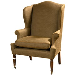 American Wingback Bergere Chair