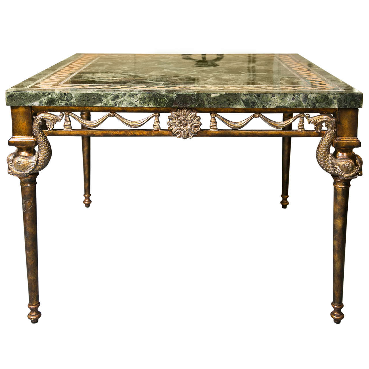 Marble top center table by maitland smith at 1stdibs marble top center table by maitland smith for sale gumiabroncs Choice Image