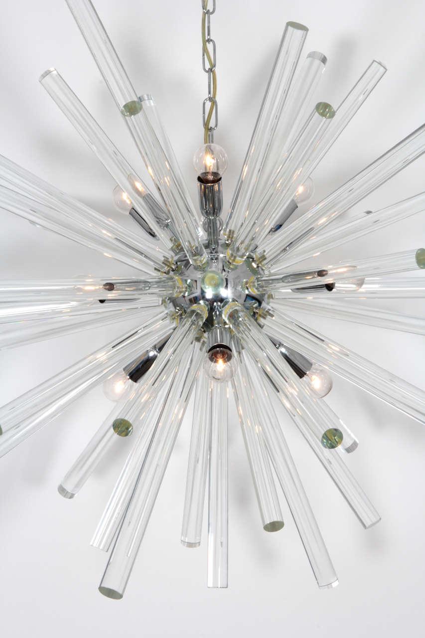 "Bakalowits and Söhne Spectacular ""Starburst"" chandelier c"