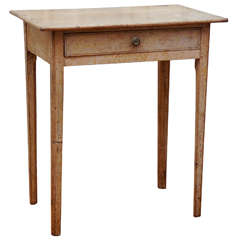 French Original Painted End Table