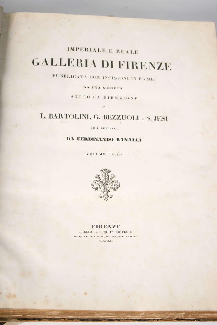 Animal Skin 18th Century Large Vellum Books in a Three Volume Set For Sale
