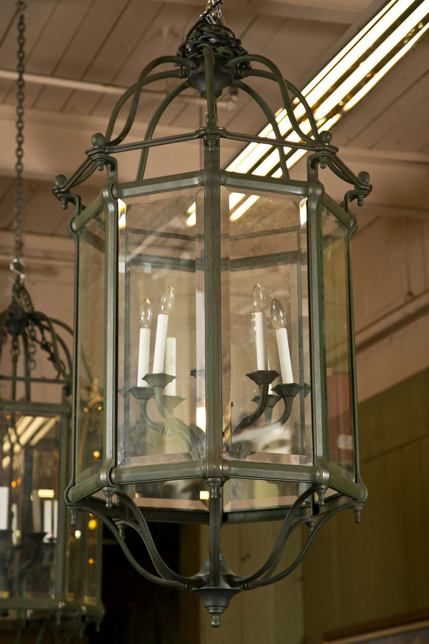 Vintage Will Adore These Glittering Glass Lantern Chandeliers It Borrows Its Styling From The