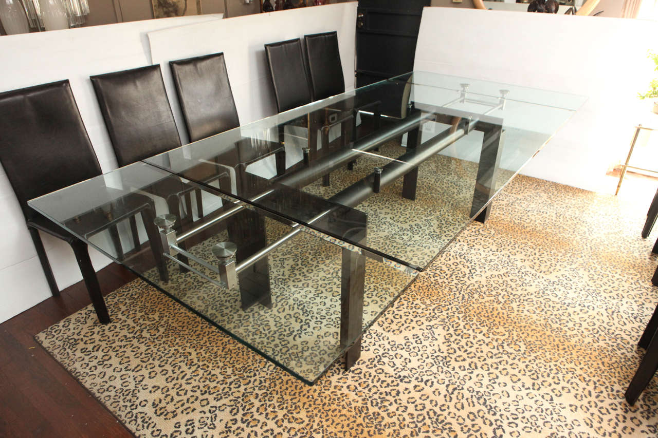 Italian Marvelous Dining Table Set For Sale