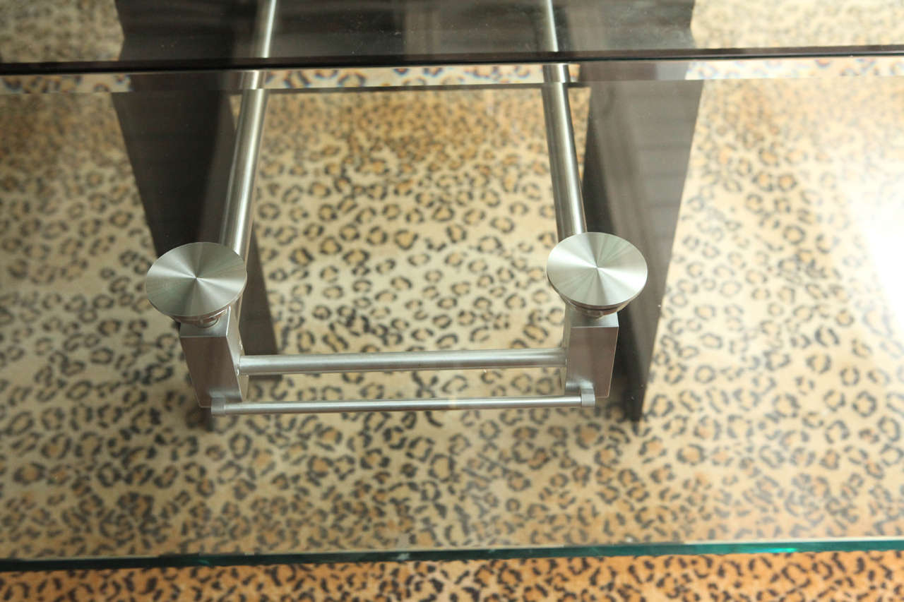 Marvelous Dining Table Set In Excellent Condition For Sale In Los Angeles, CA